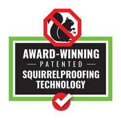 100% Guaranteed Squirrel Proof